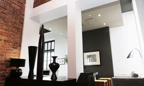 Aménagement d'intérieur : salon aménagé