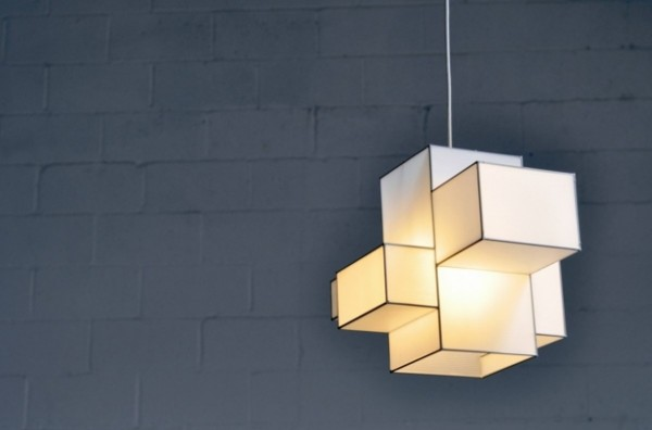 Lampe toile