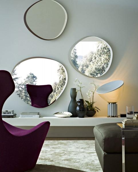 Miroirs muraux salon