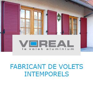 Voreal : fabricant de volets en aluminium