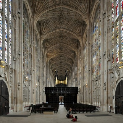 L'écho dans une église / cathédrale