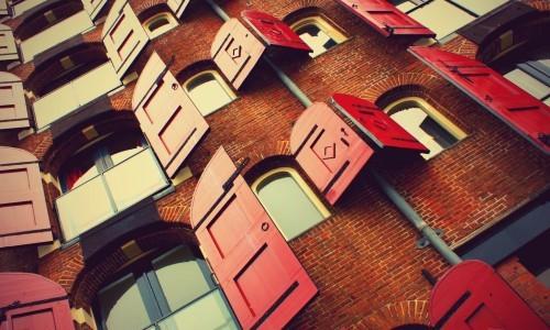 Fenetres battantes immeuble